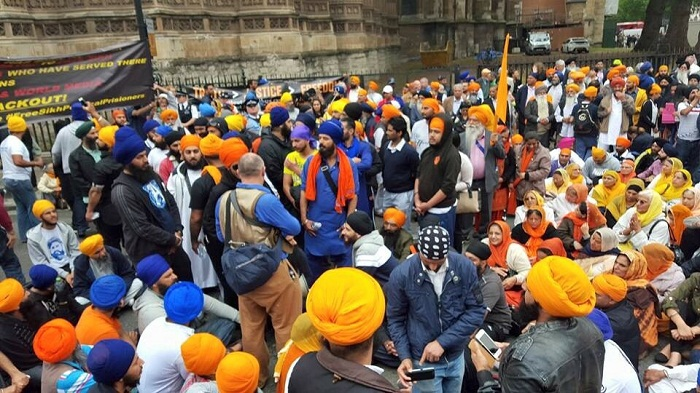UK-Sikhs-Protest-Prisoners