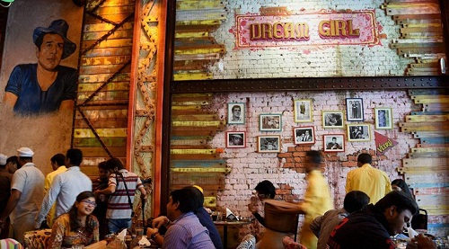 "Launch of restaurant ""dharam garam"""