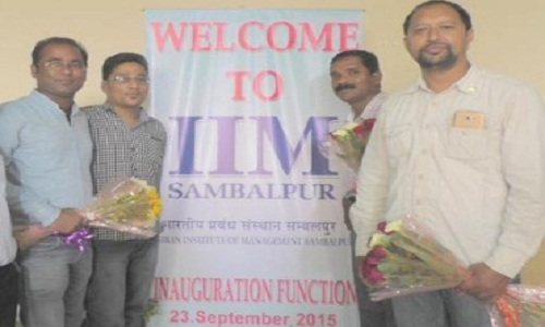 IIM-Sambalpur-PGP-Classes-Begins