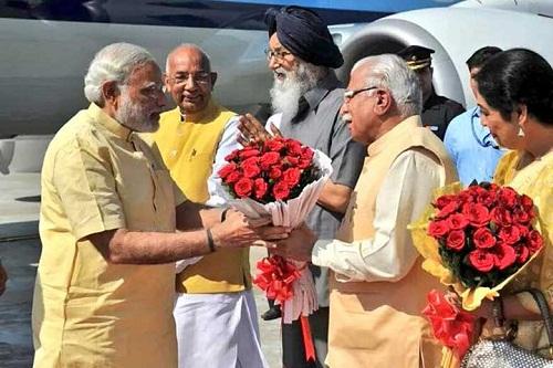 Modi-Inaugurates-Mohali-Airport