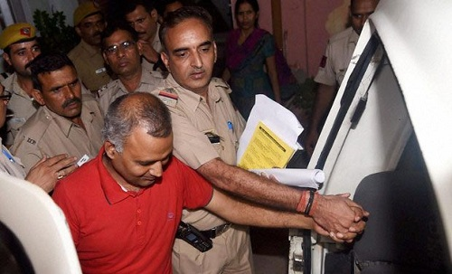 Somnath-Bharti-Arrested