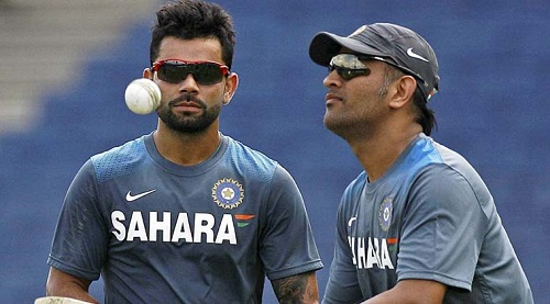 Virat-Replaces-Dhoni-Captaincy