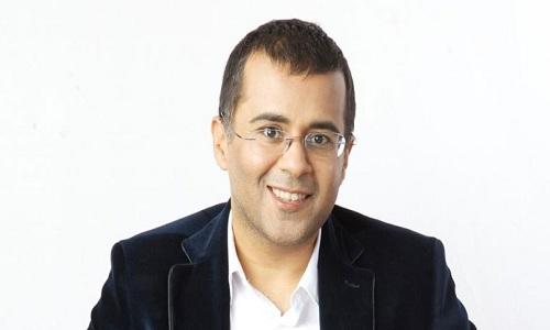 Chetan-Bhagat-BJP-Spokesman-Rajesh-Joshi