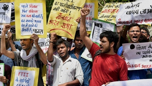 FTII-Fifth-Protest-Meeting