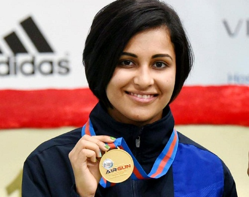 Heena-Sidhu-gold-Medal-Asian-Airgun