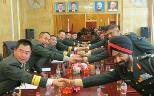 Indian-Chinese-Armies-Anti-Terrorism-Activity