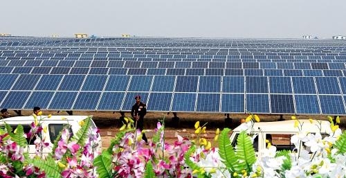 Bhagwanpur solar power plant