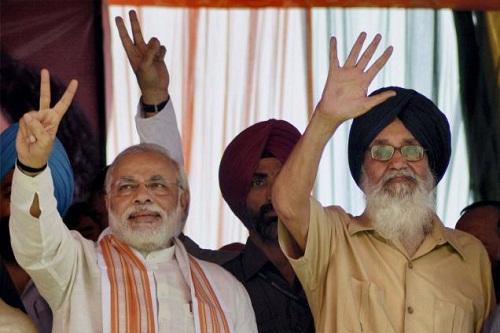Modi-Comparing-Punjab-CM-Badal-Mandela