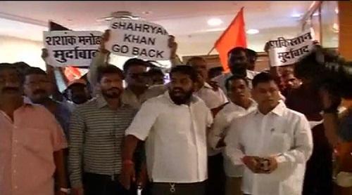 Shiv Sena-Activists-Storm-BCCI-HQ