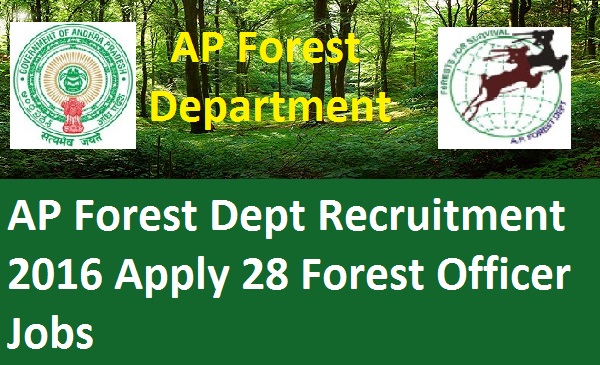 AP-Forest-Officer-Recruitment