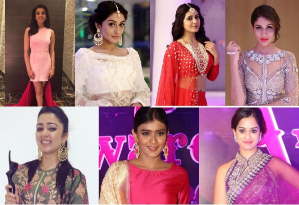 Actresses At Zee Telugu Apsara Awards 2016