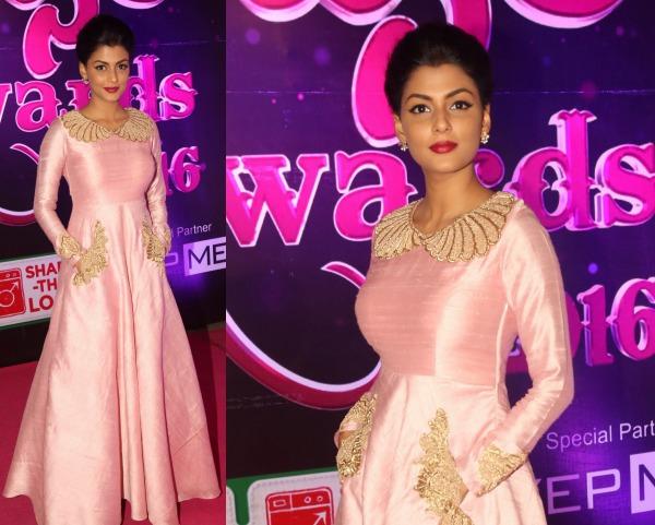 Anisha Ambrose At Apsara Awards 2016