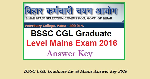 BSSC-CGL-answer-key-2016