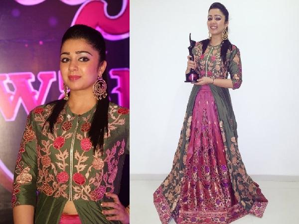 Charmi Kaur At Apsara Awards 2016
