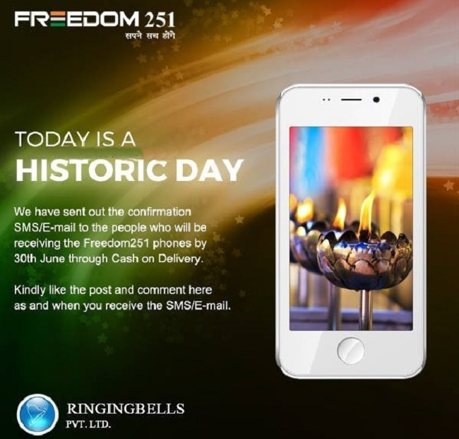 Freedom 251 smartphone updates