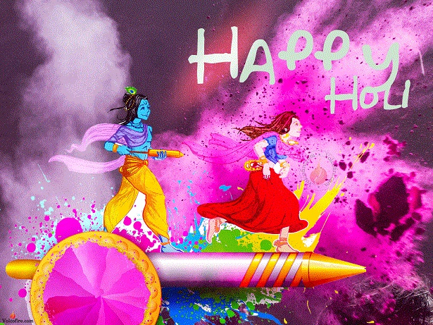 Happy Holi 2019 Images, Messages, Quotes, Top Telugu Holi Special Songs For Whatsapp Status 8