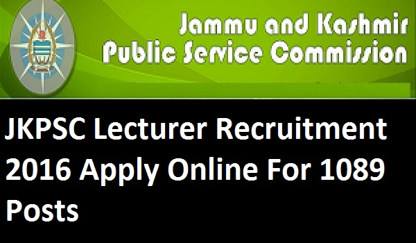 JKPSC-Lecturer-Recruitment-2016