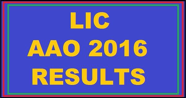 LIC-AAO-Results-2016