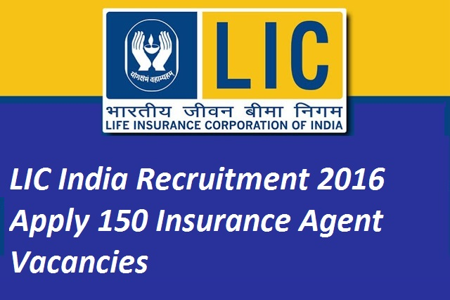 LIC India Recruitment-Insurance-Agent