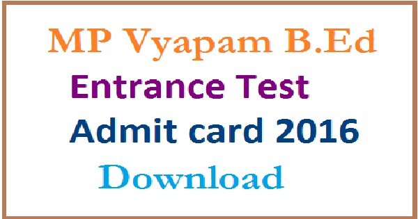 MP-B.Ed-Entrance-Exam-Admit-Card-2016