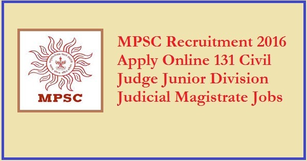 MPSC-Recruitment-2016