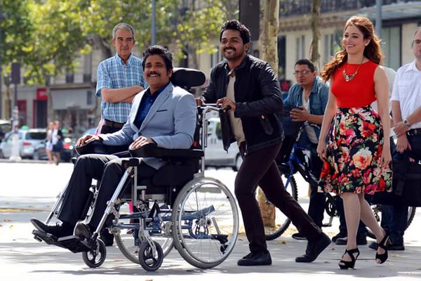Nagarjuna Wheelchair Cost in Oopiri Movie