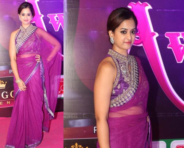 Nanditha Raj At Apsara Awards 2016