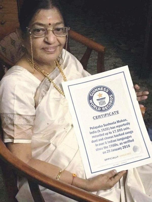 P-Susheela-Guinness-Record
