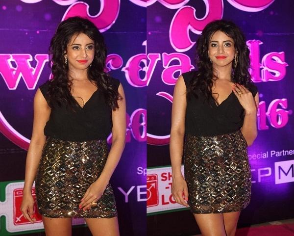 Sanjjanaa Galrani At Apsara Awards 2016