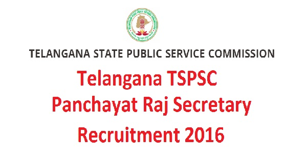 TSPSC Recruitment-2016