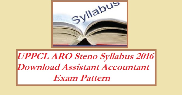 UPPCL-ARO-Syllabus-2016