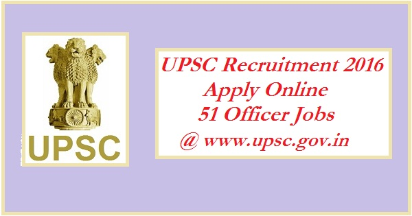UPSC-recruitment-2016