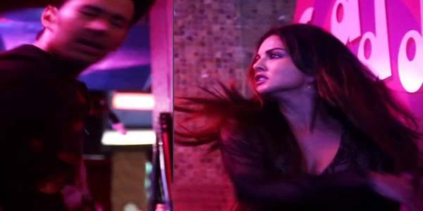 actress Sunny Leone Slaps Reporter