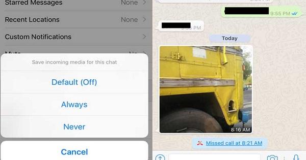 whatsapp ios update