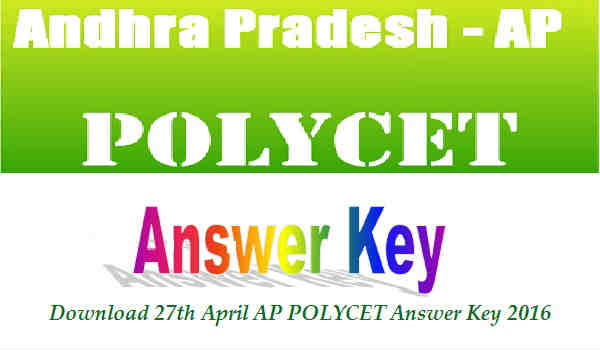 AP POLYCET Answer Key 2016