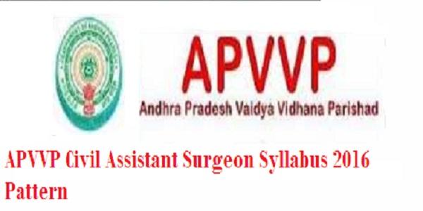 APVVP-Civil-Assistant-Surgeon-Syllabus-2016