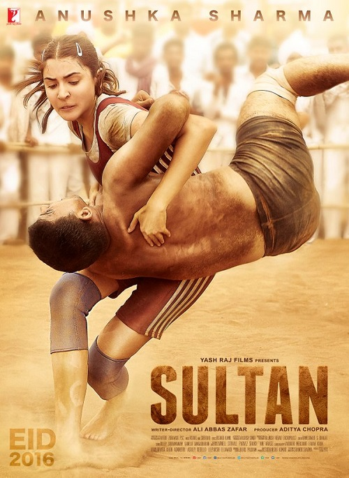 Anushka Sharma Sultan First Look Poster