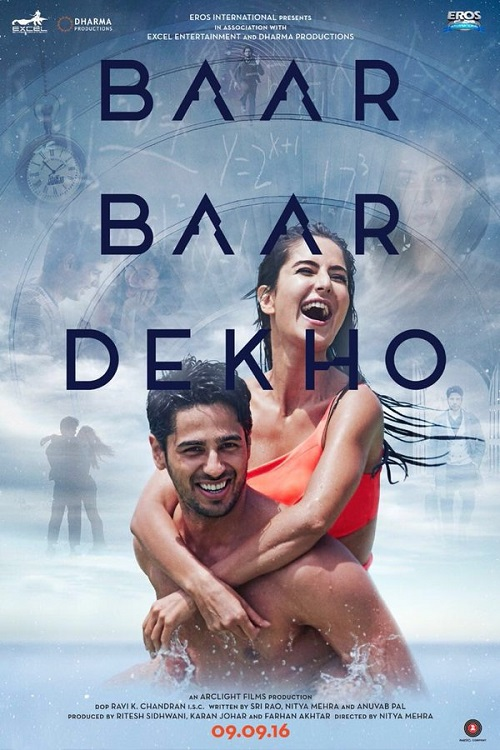 Baar Baar Dekho First Look Poster