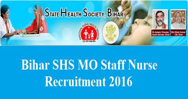 Bihar-SHS-Recruitment-2016