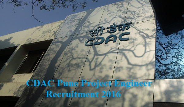 CDAC-Pune-Recruitment-2016