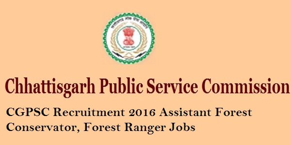 CGPSC-Assistant-Forest-Conservator-Recruitment-2016