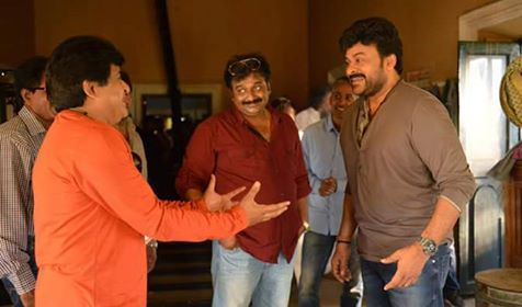 Chiranjeevi 150th Movie 1st day Shooting Photos