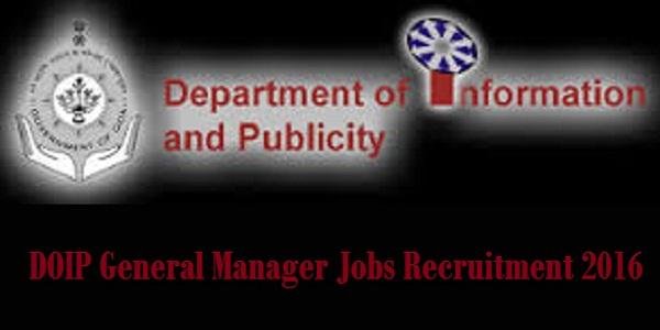 DOIP-Recruitment-2016