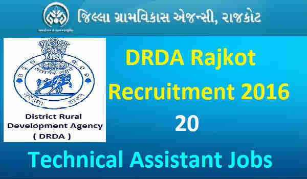 DRDA-Rajkot -Recruitment-2016-Notification