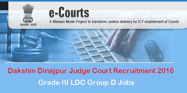 Dakshin-Dinajpur-Judge-Court-Recruitment-2016