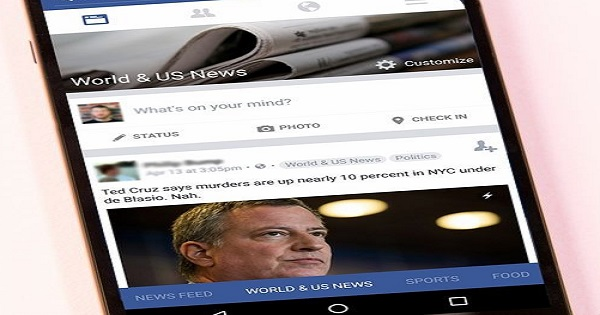 Facebook News Feedb App