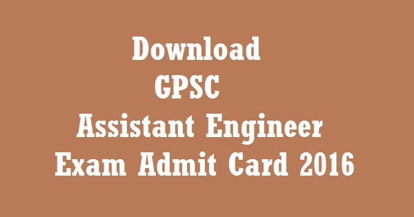 GPSC-AE-Admit-card-2016