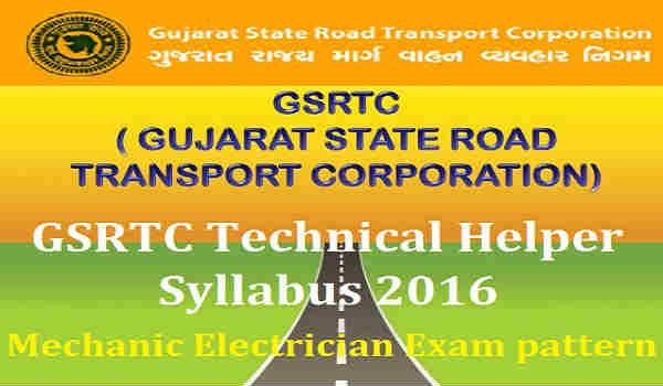 GSRTC-Technical-Helper-Syllabus-2016