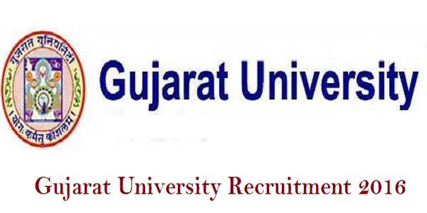 Gujarat-University-Recruitment-2016