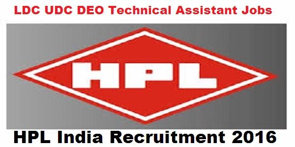 HPL-India-Recruitment-2016